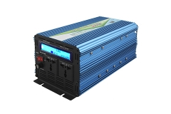 Modified sine wave inverter charging